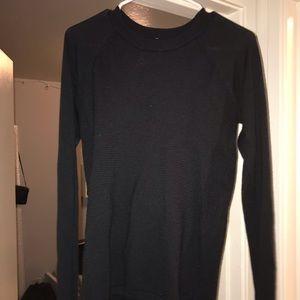 Black Lululemon Knit Sweater